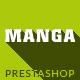 Manga - Premium Responsive Prestashop Theme - ThemeForest Item for Sale