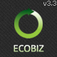 ECOBIZ -  Business WordPress Theme - ThemeForest Item for Sale