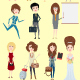 Character Creation Toolkit - Ladies - GraphicRiver Item for Sale
