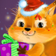 Squirrel with a gift - GraphicRiver Item for Sale