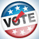 Vector Election Pins - GraphicRiver Item for Sale