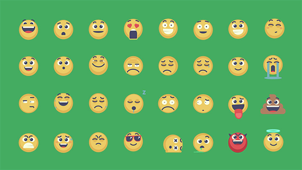 Animated Emoticons Pack