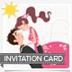Wind: Invitation Card - GraphicRiver Item for Sale