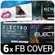 6 Music Event Facebook Timeline Covers vol.3 - GraphicRiver Item for Sale