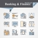 Banking and Finance Icons - GraphicRiver Item for Sale