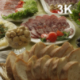 A Table With Dishes - VideoHive Item for Sale