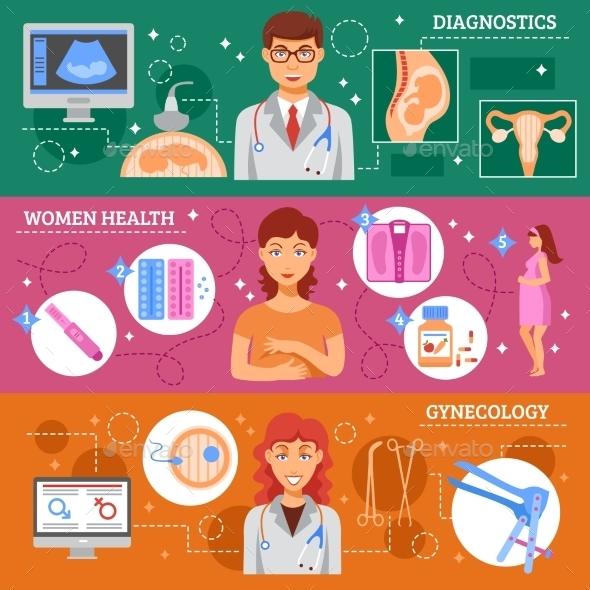 Obstetrics Banner Set