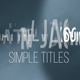 14 Simple Titles - VideoHive Item for Sale