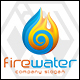 Fire Water Logo - GraphicRiver Item for Sale