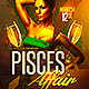 Pisces Affair Flyer  - GraphicRiver Item for Sale