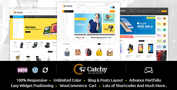 Catchy – Multipurpose WooCommerce Theme Free Download