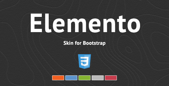 Elemento - Skórka Bootstrap