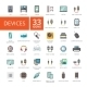 Electronic Devices Icons Set - GraphicRiver Item for Sale