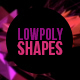 Low Poly Shapes - Abstract 3D Elements Pack - VideoHive Item for Sale