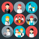 Flat Business People Icons Set - GraphicRiver Item for Sale