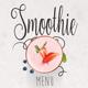 Smoothie Menu III - GraphicRiver Item for Sale