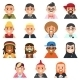 Icon Subcultures Man in Flat Style - GraphicRiver Item for Sale