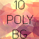 10 Spring Polygonal Backgrounds - GraphicRiver Item for Sale