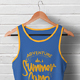 Male Tank Top T-shirt Mock-up - GraphicRiver Item for Sale
