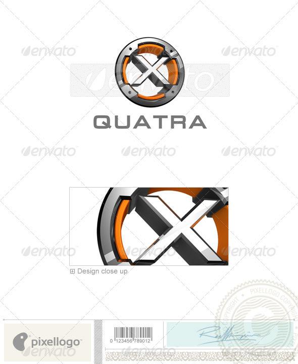 X Logo - 3D-494-X