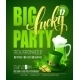 Lucky Party Poster St. Patricks Day - GraphicRiver Item for Sale