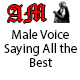 Male Voice Saying All the Best