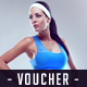 Gym Fitness Voucher - GraphicRiver Item for Sale