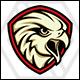 Rajawali - Eagle Shield Logo Template - GraphicRiver Item for Sale