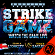 Strike Game Flyer Template - GraphicRiver Item for Sale