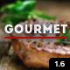 Gourmet - Restaurant Bar Hotel WordPress Theme - ThemeForest Item for Sale