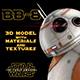 BB-8 Star Wars Droid 3D Model with Materials & Textures - 3DOcean Item for Sale
