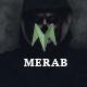 Merab - Creative Multipurpose PSD Template - ThemeForest Item for Sale