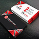 Creative  Business Card - 91B - GraphicRiver Item for Sale