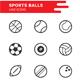Sports Balls icon set - GraphicRiver Item for Sale