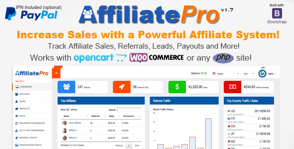 Affiliate Pro - Affiliate Management System