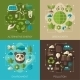 Environmental Protection, Ecology Concept Banners - GraphicRiver Item for Sale