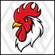 Ayam Jago - Rooster Logo - GraphicRiver Item for Sale