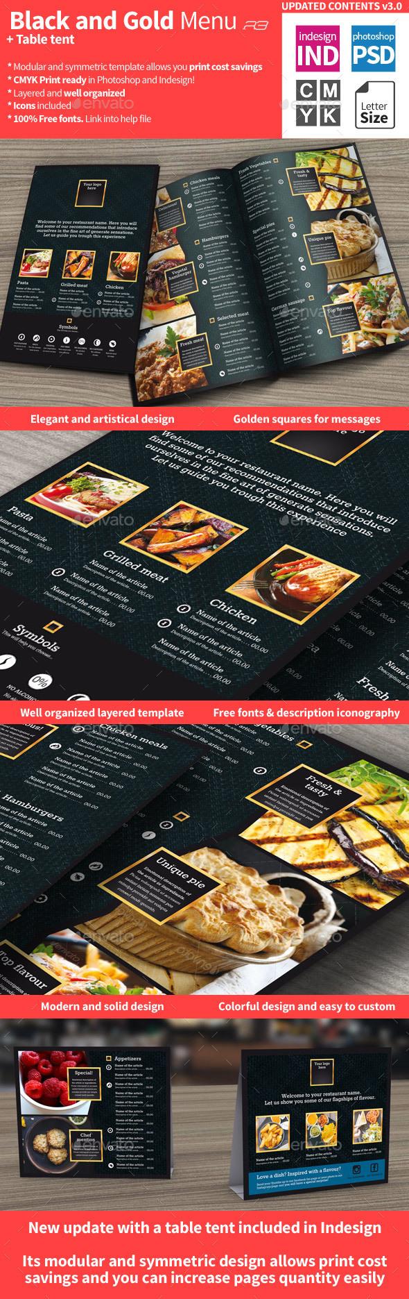 Menu Graphics Designs Templates From Graphicriver