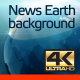 News Earth Background - VideoHive Item for Sale