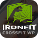 Ironfit - Fitness, Gym and Crossfit WordPress Theme - ThemeForest Item for Sale