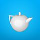 Teapot Leopold - 3DOcean Item for Sale