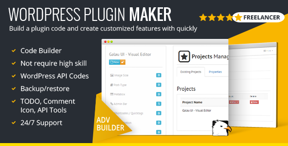 Front End Builder PHP Scripts from CodeCanyon