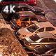 Courtyard Night Parking - VideoHive Item for Sale