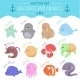 Sea Fishes and Animals - GraphicRiver Item for Sale