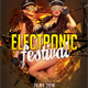 Electronic Festival Party Flyer Template - GraphicRiver Item for Sale