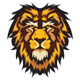 Lion Head Graphic Mascot Vector Image - GraphicRiver Item for Sale