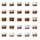 Infographic with Coffee Types - GraphicRiver Item for Sale