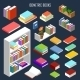 Isometric Books  - GraphicRiver Item for Sale