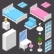 Isometric Furniture - GraphicRiver Item for Sale