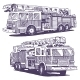 Firetruck Drawings - GraphicRiver Item for Sale